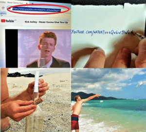 Dank, Memes, and Target: Astley-Never Gonna Give  https://www.youtube.com/watch?vedQlw9WgXc  tions  YouTube  FR  Rick Astley-Never Gonna Give You Up  YOUTUBE.COM /WATCH? VS DQwhw3We Never gonna give you up by serpentza12 MORE MEMES