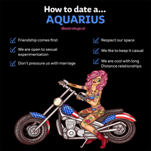 Astrology: How to date an Aquarius: Astrology: How to date an Aquarius