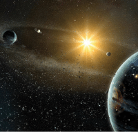 Astronomers found evidence of a new 9th planet at the edge of our solar system. Sorry, Pluto, but it appears astronomers have finally discovered our solar system's real ninth planet. Apparently, there is evidence that a Neptune-sized planet lies somewhere beyond Pluto. The planet, which has not yet been seen, orbits the sun every 15,000 years. If predictions about this new planet prove to be correct, it will be the fifth-largest planet in our solar system. Thanks to our friends over at @Tech for the story!: Astronomers found evidence of a new 9th planet at the edge of our solar system. Sorry, Pluto, but it appears astronomers have finally discovered our solar system's real ninth planet. Apparently, there is evidence that a Neptune-sized planet lies somewhere beyond Pluto. The planet, which has not yet been seen, orbits the sun every 15,000 years. If predictions about this new planet prove to be correct, it will be the fifth-largest planet in our solar system. Thanks to our friends over at @Tech for the story!