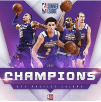 Finals, Los Angeles Lakers, and Memes: ASUNMER  LEAGUE  NBA  LOS ANGE  BASKETBA  ALL  LOS ANGELES  BASKETBAL  2017  HAMP工ON  TV  TV The Lakers win the summer league championships🔥 Kyle Kuzma scored 30 points and had 10 rebounds winning the finals MVP!