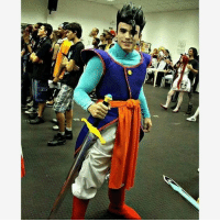 Gohan, Memes, and Cosplay: at Awesome Mystic Gohan Cosplay!