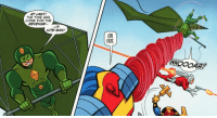 Revenge, Yeah, and Time: AT LAST!  THE TIME HAS  COME FOR THE  REVENGE-  OF  KITE-MAN!  OR  NOT Kite-Man, hell yeah?