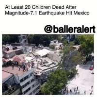 "Anaconda, Bailey Jay, and Bodies : At Least 20 Children Dead After  Magnitude-7.1 Earthquake Hit Mexico  @balleralert At Least 20 Children Dead After Magnitude-7.1 Earthquake Hit Mexico – blogged by @MsJennyb ⠀⠀⠀⠀⠀⠀⠀ ⠀⠀⠀⠀⠀⠀⠀ On the 32nd anniversary of the biggest earthquake to rattle Mexico's capital, a magnitude-7.1 earthquake rocked central Mexico, leaving over 200 people dead. ⠀⠀⠀⠀⠀⠀⠀ ⠀⠀⠀⠀⠀⠀⠀ According to reports, the quake brought down at least 44 buildings, including the Enrique Rebsamen elementary school in Mexico City. Mexican President Enrique Pena Nieto visited the school hours after the tragedy to find the bodies of at least 20 children and two adults. However, about 30 children and eight adults are still missing. ⠀⠀⠀⠀⠀⠀⠀ ⠀⠀⠀⠀⠀⠀⠀ Emergency officials have begun recovery efforts to look for survivors as they rummage through the wreckage. The deadly quake came just eight days after a magnitude-8.1 earthquake hit Mexico's southern Pacific coast. ⠀⠀⠀⠀⠀⠀⠀ ⠀⠀⠀⠀⠀⠀⠀ According to reports, the city is built on a former lake bed, which intensifies the ""shaking by factors of 100 or more,"" a seismologist stated. ""By comparison, the worst condition seen in Los Angeles during an earthquake is shaking amplified by a factor of five,"" Lucy Jones said. ⠀⠀⠀⠀⠀⠀⠀ ⠀⠀⠀⠀⠀⠀⠀ Following the disaster, the U.S. State Department announced that it would be ready to provide assistance if needed. ⠀⠀⠀⠀⠀⠀⠀ ⠀⠀⠀⠀⠀⠀⠀ ""We stand ready to provide assistance should our neighbors request our help. Our embassy in Mexico City has sent out public messages to U.S. citizens in Mexico, and the embassy stands ready to provide consular assistance to any U.S. citizens who may have been affected. We offer our condolences to any who were injured or lost loved ones."""