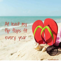 Memes, 🤖, and Flip Flops: At least my  flip flops fit  every year  http Acereusant com