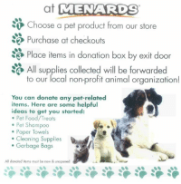 e13d2c2b966a Animals, Food, and Laundry: at MMENARDS Choose a pet product from our store