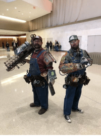 At Pax South, there were amazing Fallout Mario and Luigi cosplayers with a bullet bill Fat Man launcher https://t.co/pp6BIujzVE: At Pax South, there were amazing Fallout Mario and Luigi cosplayers with a bullet bill Fat Man launcher https://t.co/pp6BIujzVE