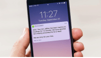 "Sorry, Target, and Tumblr: AT&T  11:27  Tuesday, September 26  DUOLINGO  now  Alert. Your son Jeffrey has been inactive on  Duolingo for 10 minutes. We have reported  him missing and presume he is dead.  We are sorry for your loss.  Slide for more <p><a href=""https://clickholeofficial.tumblr.com/post/165801100647/caring-about-customers-duolingo-is-reporting-any"" class=""tumblr_blog"" target=""_blank"">clickholeofficial</a>:</p><blockquote><h2><a href=""http://www.clickhole.com/article/caring-about-customers-duolingo-reporting-any-user-6666#1,"" target=""_blank"">Caring About Customers: Duolingo Is Reporting Any User Who Goes 10 Minutes Without Opening The Duolingo App As A Missing Person</a></h2></blockquote>"