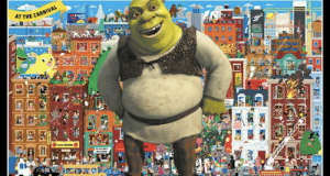 Find Shrek: AT THE CARNIVAL  YOUP  smant  HOTEL  w wzi  Her Find Shrek
