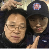 Isis, Memes, and 🤖: atagonia Steven Yeun and his father ~Isis J.