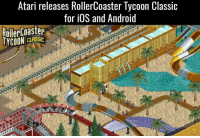 Atari Releases RollerCoaster Tycoon Classic for iOS and Android