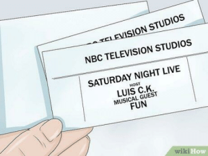 Dicks, Saturday Night Live, and How To: ATELEVISION STUDIOS  NBC TELEVISION STUDIOS  SATURDAY NIGHT LIVE  HOST  LUIS C.K.  MUSICAL GUEST  FUN  wiki  How How to see dicks that you never asked to see in the first place