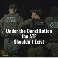 They can take their gun control acts of 1934 and 1968 with them too.  #gunrights #gunowners #10thAmendment #constitution: ATF  POLICE  POLICE  ATTR  POLIC  Under the Constitution  the ATF  Shouldn't Exist  Amendment They can take their gun control acts of 1934 and 1968 with them too.  #gunrights #gunowners #10thAmendment #constitution