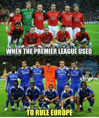 Who remembers? 😳 🔺LINK IN OUR BIO!! 😎🔥: ATG AGC  AIG  AIG  AIG  WHEN THE PREMIER LEAGUE USED  The Football  Nation  SAMSUNG  SAMSUNF  SAMSUNG  SAMSUNG  IMMSUNG  SAMSUN  TO RULE EUROPE Who remembers? 😳 🔺LINK IN OUR BIO!! 😎🔥