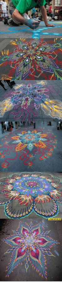 Paintings, Tumblr, and Blog: ATHEMETAPICTURE.COM srsfunny:  Magnificent Sand Paintings Created By Hand