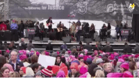 Hey Dena Takruri is back on the National Mall with stories from the Women's March on Washington.: athering for JustICe  tho Hey Dena Takruri is back on the National Mall with stories from the Women's March on Washington.