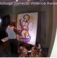 Memes, Paintings, and Queen: ational Domestic Violence Aware Follow this talented black artist Tariq Mix @tmix_art ! He has a unique And distinctive abstract style of black art! He has several collections to choose from ranging from Cause & Awareness, Jazz, Black Love, to D9 Greek art. Limited edition paper and canvas prints are available! Art blacklove blackart kings queens tmixart women Selfawareness Blackqueen Natrual WomensmentalHealth Natrualhair supportblackart supportblackbusiness painting