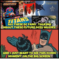 "Batman, Love, and Meme: ATIVAN  THE DARK KNIGILREURNS  COMIC  DUI  MEME  ALERTS  THE JUDAS CONTRA  NEW  TRUTH& CONSEQUENCE!  It's d THE KILLI  KE  c I've ever loved.""  im Burton  ALL THESEDC FANS TALKINGAC  ABOUT THESE FUTUREDCEU MOVIES  ANDI JUSTWANT TO SEE THIS ICONIC  MOMENT THE BIG SCREEN. From @comicmeme_alerts - Would love to see this in the upcoming batman movie. dceu thedarkknightrises bvs batmanvssuperman benaffleck henrycavil gothamcitysirens deadshot cyborg aquaman galgadot youngjustice teentitans actioncomics detectivecomics harleyquinzel ezramiller theflashcw brucewayne clarkkent batmanbegins jl justiceleague batmanvsupermandawnofjustice alfred justiceleagueofamerica batgirl thebatman kidflash"