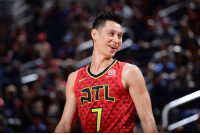 Hawks, Jeremy Lin, and Atl: ATL Jeremy Lin is finalizing a buyout with Hawks, clearing the way for him to sign with Raptors, per Adrian Wojnarowski