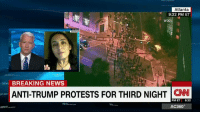 """Asra Nomani, immigrant, Muslim, life long liberal and recent Trump voter tells Anderson Cooper the problem of """"radical jihadism"""" must be confronted.: Atlanta  9:22 PM ET  WGCL  BREAKING NEWS  ANTI-TRUMP PROTESTS FOR THIRD NIGHT CNN  PM ET  622  AC360° Asra Nomani, immigrant, Muslim, life long liberal and recent Trump voter tells Anderson Cooper the problem of """"radical jihadism"""" must be confronted."""