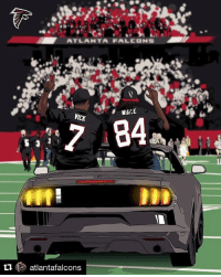 ATLANTA FALCONS  WHILE  VICK  tu LR atlantafalcons Thank you. RiseUp Falcons AtlantaFalcons