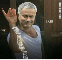 José Mourinho doing the Salt Bae:  #ATR  6TH  6TH  6TH  Troll Football  o  6 José Mourinho doing the Salt Bae