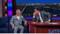 Dank, Facebook, and Stephen: ATR I'm on The Late Show with Stephen Colbert as we take a perilous voyage on the USS Sullivan. #StarTrek50  Here's a sneak peek at the fun we have: https://www.facebook.com/colbertlateshow/videos/934029580075127/  Watch on CBS or online at 11:35/10:35c: http://cbs.com/live-tv