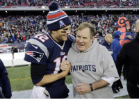 Brady: We're playing the Titans   Belichick: You mean a second straight bye week before the AFC Championship https://t.co/XBFFJAnU9T: ATRIOTS Brady: We're playing the Titans   Belichick: You mean a second straight bye week before the AFC Championship https://t.co/XBFFJAnU9T