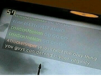 Battlefield burn: ATrocketsniper iesus chris  You  is your virginity Battlefield burn