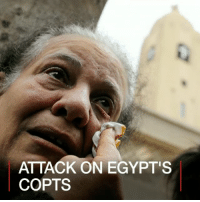 Memes, Reuters, and Sunday: ATTACK ON EGYPT'S  COPTS 10 APR: Egypt's President Abdul Fattah al-Sisi has announced a three-month state of emergency after attacks on two Coptic churches left at least 44 people dead. So-called Islamic State said it was behind the blasts in Tanta and Alexandria on Palm Sunday. The group has targeted Copts in Egypt recently and warns of more attacks. 📷: Reuters. Find out more: bbc.in-egyptcopts Egypt Tanta Alexandria Copts BBCShorts BBCNews @BBCNews