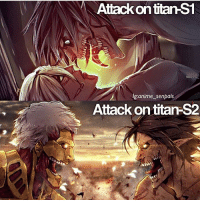 """Comment """"titan"""" letter by letter! 🔥 Follow @animee for more! . . Cr. @anime_senpais: Attack on titan  anime senpais  Attack on titan-S2 Comment """"titan"""" letter by letter! 🔥 Follow @animee for more! . . Cr. @anime_senpais"""