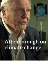"Memes, World, and Change: Attenborough on  climate change ""All of this is extraordinarily sensitive, this world...but given the chance, it can recover."" 🌎 Sir David Attenborough is making an impassioned plea to politicians, big businesses and ""people of the world"" at the @unitednations – to do something about climatechange. He calls it ""the biggest threat to this planet in thousands of years."" environment sustainability DavidAttenborough BBCNews"