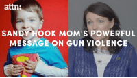 Memes, 🤖, and Sandy Hook: attn:  SANDY Hook MoM's PowERFUL  MESSAGE ON GUN VIOLENCE Politicians have totally failed us after Sandy Hook.