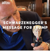 It's time for Donald J. Trump to send a blunt message to Nazis and anti-Semites. -- Arnold Schwarzenegger: attn:  SCHWARZENEGGER'S  MESSAGE FOR TRUMP It's time for Donald J. Trump to send a blunt message to Nazis and anti-Semites. -- Arnold Schwarzenegger