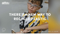 We should be able to recycle our trash at home.: attn:  THERE SA NEW WAY TO  RE  ASTIG  ROM BOTTLE CAPS RECYCLING, IGN MONKEY VIA YOUTUBE We should be able to recycle our trash at home.