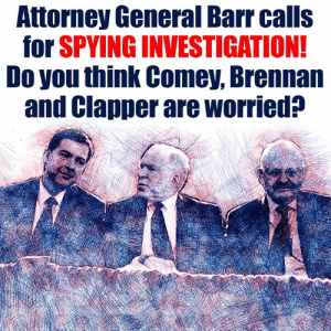 Click, Memes, and Diabetes: Attorney General Barr calls  for SPVING INVESTIGATION  Do you think Comey, Brennan  and Clapper are worried? Comey, Brennan and Clapper are about to have a cow...  There Is PANIC In The Diabetes Industry! Big Pharma executives can't believe their eyes. SEE WHY CLICK HERE ►► http://u-read.org/no-diabetes