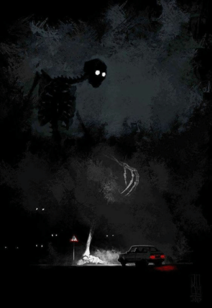audereviridis:  sixpenceee: The terrors in the night. Art by Boris Groh.  This is spooky and fantastic and I love it : audereviridis:  sixpenceee: The terrors in the night. Art by Boris Groh.  This is spooky and fantastic and I love it