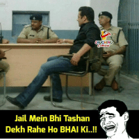 Jail, Swag, and Indianpeoplefacebook: AUGHING  Jail Mein Bhi Tashan  Dekh Rahe Ho BHAI Ki ! Bhai ka #SWAG 😀 #BlackBuckPoachingCase