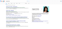 """Robin Sparkles led a secret life..: august ames  All Videos Images News Books More  Settings Tools  About 66,300,000 results (0.20 seconds)  Death of a Porn Star - Rolling Stone  www.rollingstone.com/culture/culture-features/death-of-a-porn-star-201939/  Dec 12,2017- Popular porn star August Ames took her own life last week after finding herself in the  middle of a controversy over cyberbullying and.  August Ames <  Canadian pornographic actress  August Ames - Wikipedia  https://en.wikipedia.org/wiki/AugustAmes ▼  August Ames was a Canadian American pornographic actress and model who appeared in almost 290  movies and was nominated for several AVN Awards...  Years active: 2013-2017  Cause of death: Suicide by hanging  Lezley Zen Military brat Antigonish, Nova Scotia Group home  August Ames was a Canadian American pornographic actress and model  who appeared in almost 290 movies and was nominated for several AVN  Awards throughout her career. Wikipedia  Spouse(s): Kevin Moore (m. 2016)  Born:August 23,1994, Antigonish, Canada  Died: December 5, 2017, Camarillo, CA  Porn star August Ames commits suicide after bullying for refusing to  www.foxnews.com/.../porn-star-august-ames-commits-suicide-after-bullying-for-not-wa...  Dec 7, 2017- Adult film actress August Ames appears at the Twistys booth during the 2017 AVN Adult  Entertainment Expo at the Hard Rock Hotel & Casin.  Height: 5'6""""  Full name: Mercedes Grabowski  Cause of death: Suicide by hanging  Spouse: Kevin Moore (m. 2016-2017)  Movies: Model for Murder: The Centerfold Killer, Justice League XXX: An  Axel Braun Parody, Deadpool XXX: A Porn Parody  August Ames (@msmaplefever) Instagram photos and videos  https://www.instagram.com/msmaplefever/?hl-env  1.1m Followers, 382 Following, 2287 Posts See Instagram photos and videos from August Ames  (@msmaplefever)  Feedback  Pornstar August Ames Dies at 23 - The Blast  https://theblast.com/pornstar-august-ames-dies-dead-23/  Dec 6, 2017-August Ames, famous for movies li"""