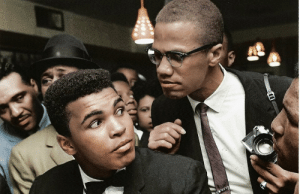 augustfanon:  Malcolm X kidding around with Muhammad Ali.  New York City, New York. 1963.  : augustfanon:  Malcolm X kidding around with Muhammad Ali.  New York City, New York. 1963.