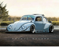 Memes, Porsche, and Euro: AUH-Welt  DIRTY BUGGER H.3 Ever seen a RWB Beetle? (No Porsche jokes 😂) Awesome render by @the_kyza render beetle volkswagen vw euro rwb porsche