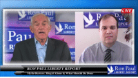 Dank, Aliens, and Alien: aul  Ro  LIBE  Pai  RON PAUL LIBERTY REPORT  Myth-Busters: Illegal Aliens & What Should Be Done  LIVE  EPOE  Ron Paul  LIBERTY REPORT The Immigration Problem Is An Economic Issue