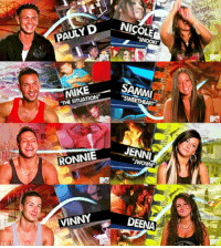 "Funny, How Many Times, and Never: AULYD Ni  eights  MIKE  ""THE SITUATION""  RONNIEJEN  VINNY  DEENA An intro theme that I'll never skip, no matter how many times I see it https://t.co/XFZMYmQN4k"