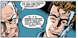 Aunt May x Donald Trump: Aunt May x Donald Trump