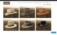 Saw, Dick, and Lifestyle: AUSTRALIAN MADE WORN THE WORL D OVER  HATS BELTS BAGS ACCESSORIES GIFT CARDS STOCKISTS f回y。  AKUBRA  AUTHENTIC  COUNTRY  WESTERN  LIFESTYLE  GARY BUSEY CUTTING DICK OFF  WITH RECIPROCATING SAW  URBAN  ICONIC  Message Us Hat collection