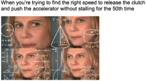 Automatic-to-manual drivers can relate: Automatic-to-manual drivers can relate