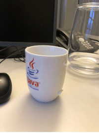 Java, Ava, and This: ava  TM  trosystems I find this cup to represent Java perfectly