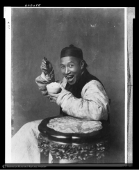 "Being Alone, Omg, and Taken: avatar-dacia:  thisisarebeljyn:  fearwax:  scootsenshi:  24-sa3t:  comradeonion:  powerofthestruggle:  Man eating rice, China, 1901-1904  this is an extremely important picture  Ive never seen someone from 1904 having fun omg  He has a nice face  No but the history behind this picture is really interesting The reason that everyone always looked miserable in old photos wasn't that they took too long to take. Once photography became widespread it took only seconds to take a picture. It was because getting your photo taken was treated the same as getting your portrait painted. A very serious occasion meant so thst your descendants would know that ypu existed and what you looked like. But one time some British dudes went to china to go on an anthropological expedition, and they met some rural Chinese farmers and decided to take their pictures. Now, these people weren't exposed to the weird culture of the time around getting your photo taken, so this guy just flashed a big grin during the photo because he was told to strike a pose and that's the pose he wanted to strike.   I think painted portraits and old photos give us the idea that in general people were just really unhappy because those are the visuals we have. This is so refreshing.  Hey, look; ""Man Laughing Alone With Rice"" is back on my dash."