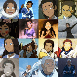 Tumblr, Blog, and Hair: avatrashh:  Shoutout to Katara for finding a hair style when she was like 4 and keeping it for 93 years