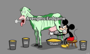 Invest now to milk out as much profits as Disney!: Avengers:Endgame  STAR  WARS  DiSNEY  LIVE  ACTVON  MARVEL  REB0OTS Invest now to milk out as much profits as Disney!