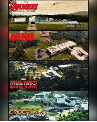 The new Avengers Facility from 2015 until now!: AVENGERS  ers Facility  Upstate New York  CAPTAIN AMERICA  SPIDE The new Avengers Facility from 2015 until now!